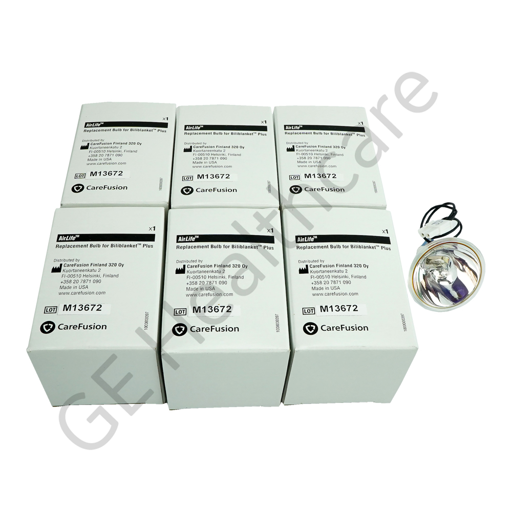 Kit Bulb Repl 6 Pack Bili Plus
