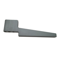 Fold Down End Bracket - Gray