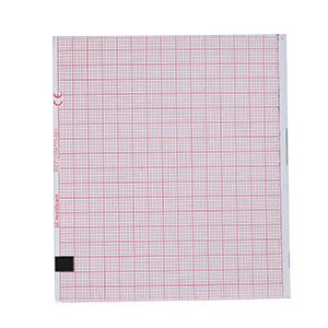 Thermal Paper 80mm Wide, Red Grid 75mm Wide, Z-Fold, Block Queue, 280 Sheets, 10 Packs